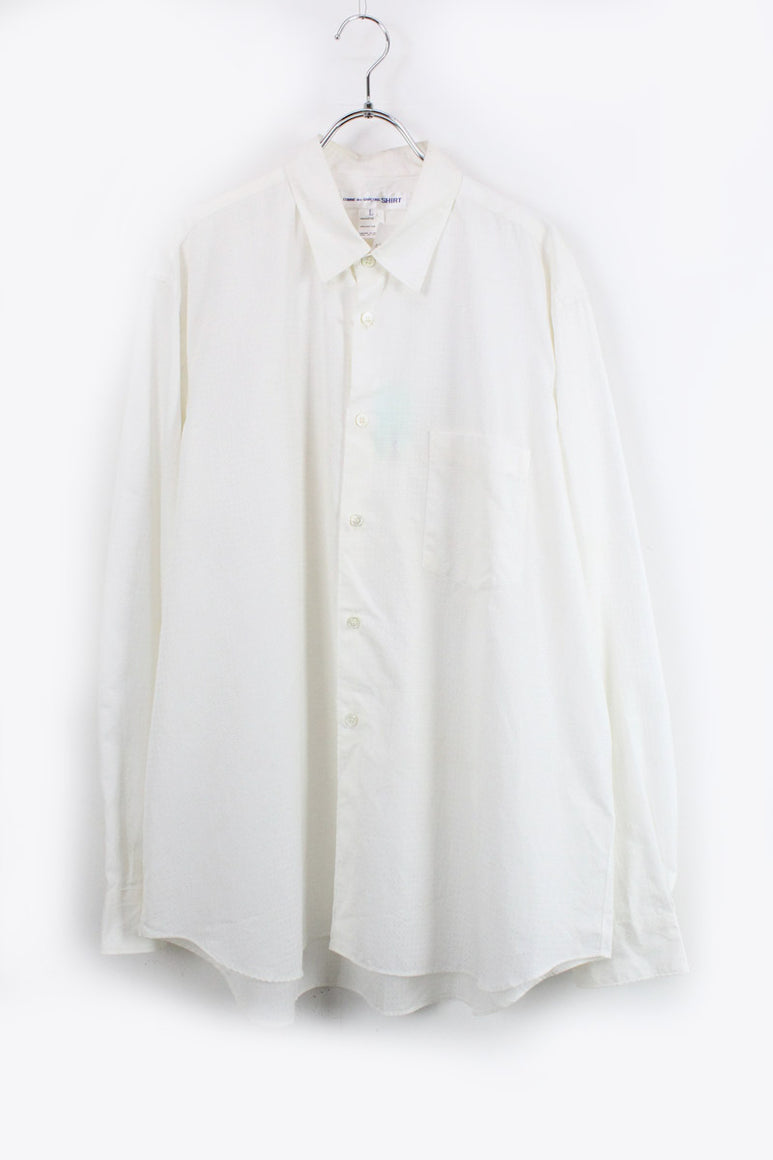 L/S SHIRT / WHITE [SIZE: L DEAD STOCK][金沢店]