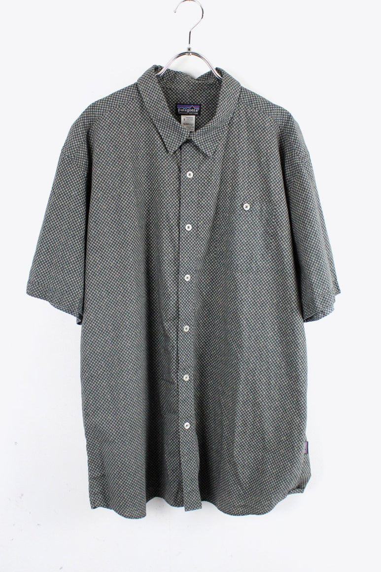 S/S ORGANIC COTTON SHIRT / BLACK [SIZE: XL USED][金沢店]
