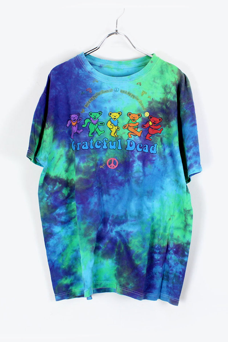 90'S S/S GRATEFUL DEAD T-SHIRT / TIE DYE