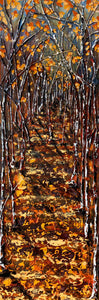 "'To Everything There Is A Season' 12""x36""x1.5"" acrylic on canvas.  Price for 3 month rental."
