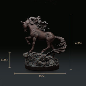 Cosmetic Black Horse