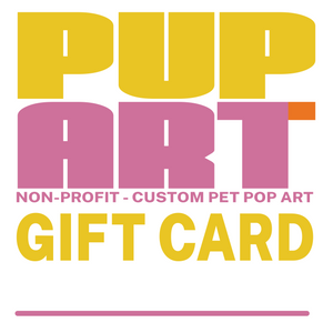 PUP ART Gift Card