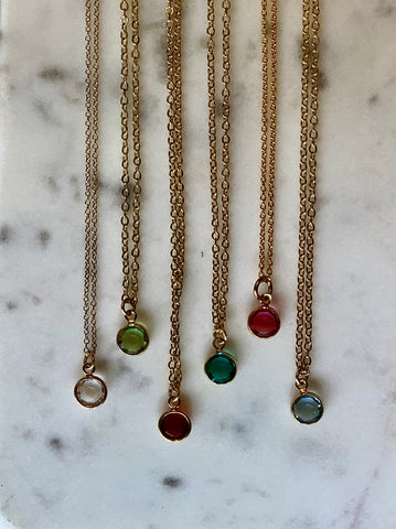 Petite Gem Necklace