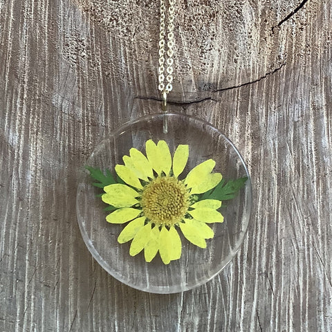 Daisy/Fern Necklace