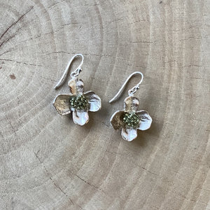 Dogwood Sterling Silver Earrings
