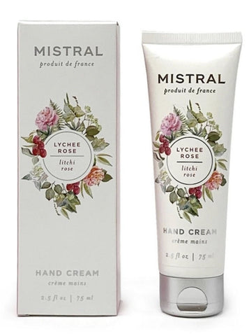 French-made Lychee Rose Hand Cream