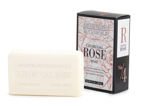 Super moisturizing Charcoal Rose Soap
