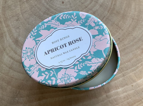 Apricot/ Rose Soy Candle