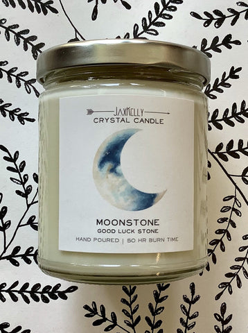 Moonstone Hand Poured Soy Candle