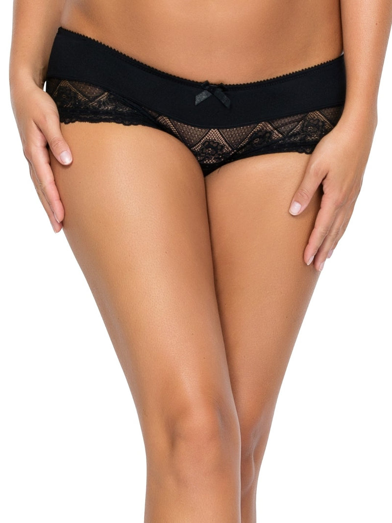 Casey Boyshort - Black - 2805