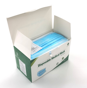 3ply Medical Masks, BFE of 99 (Case of 2,000; $0.60/pc)
