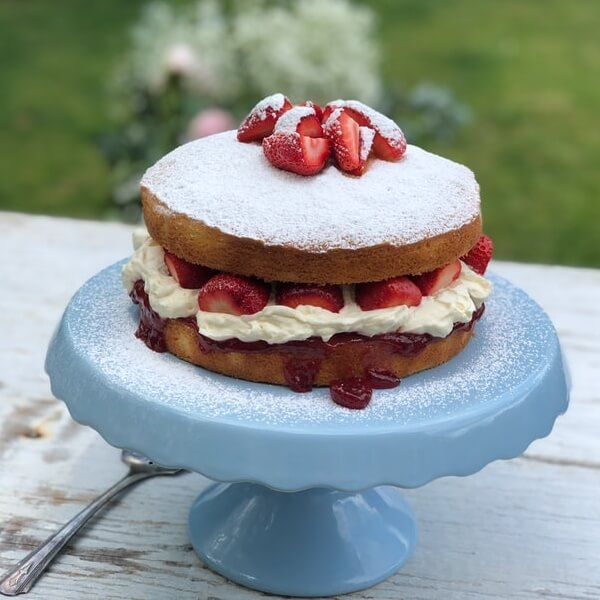 The History of the Victoria Sponge Cake
