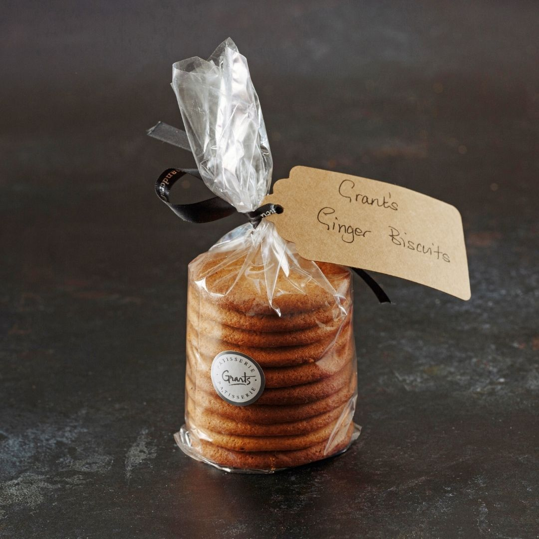 Ginger Snap Biscuits (Pack of 10) - Grant's Bakery