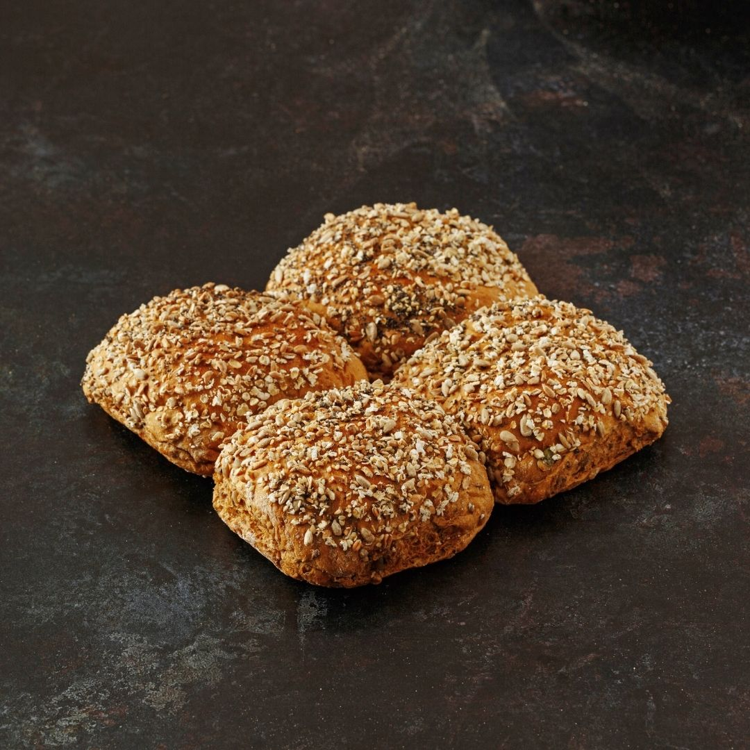 Multi Grain Bap pack of 4 - Grant's Bakery