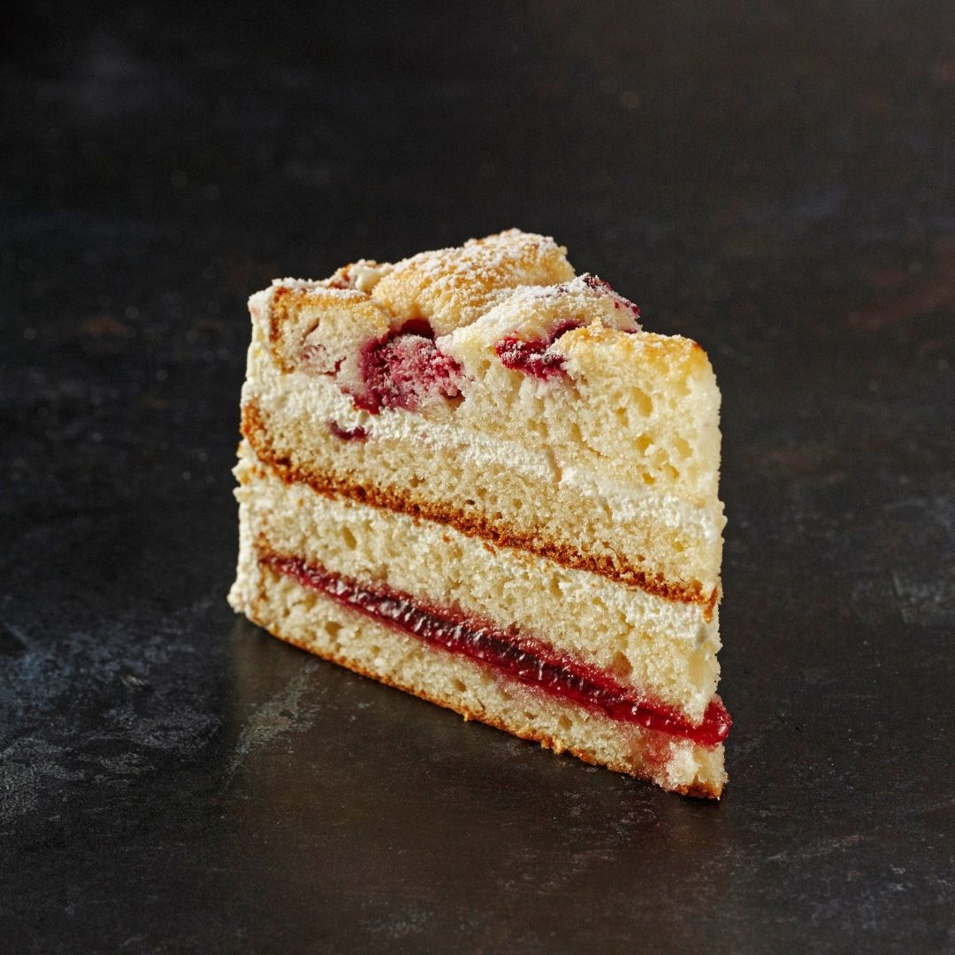 Raspberry & White Chocolate Layer Cake - Grant's Bakery
