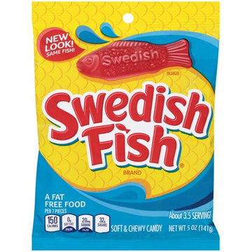 Swedish Fish, Assorted Candy (5 oz)