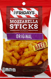 TGI Friday's Mozzarella Sticks Snacks