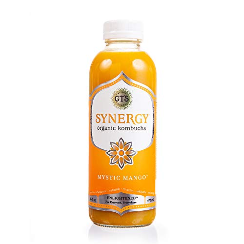 GT's Kombucha, Enlightened Mystic Mango (16 oz)
