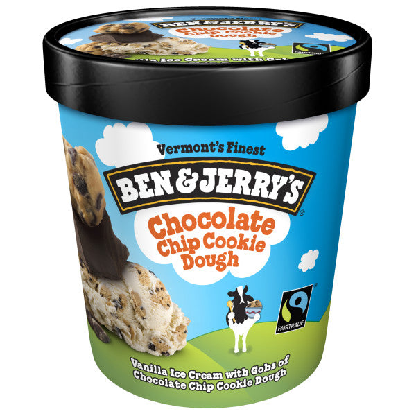 Ben & Jerry's Chocolate Chip Cookie Dough (1 Pint)