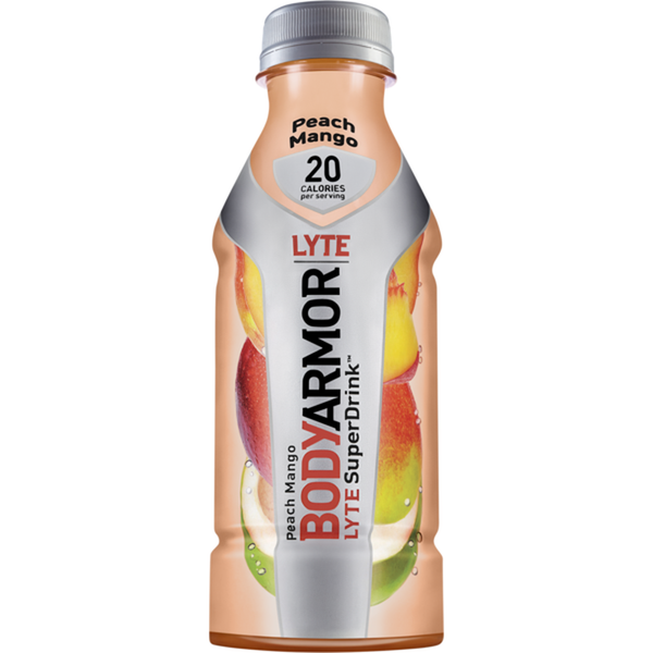 BodyArmor Lyte Sports Drink Low-Calorie, Peach Mango (12 oz)