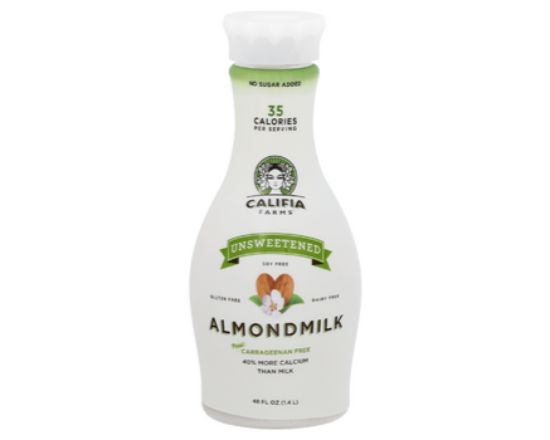 Califia Farms Unsweetened Almond Milk (48 oz)