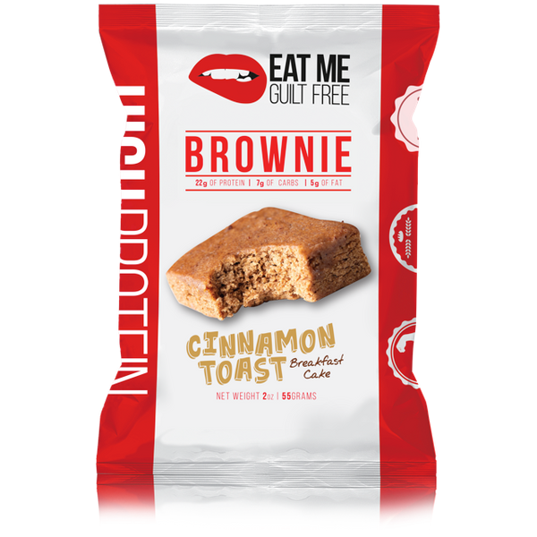 Eat Me Guilt Free Cinnamon Toast Breakfast Cake (2 count)