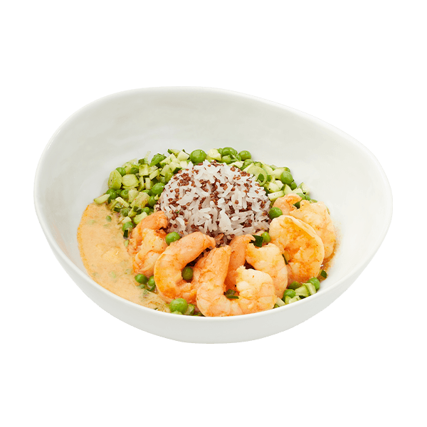 BeMeal Red Curry Shrimp