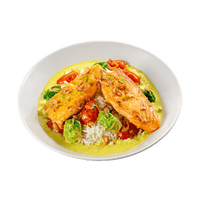 BeMeals Coconut Curry Salmon