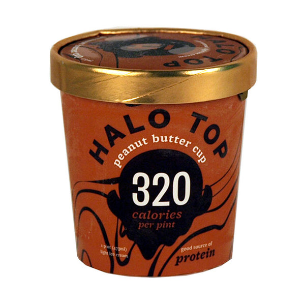 Halo Top Peanut Butter Cup (1 Pint)