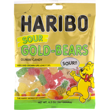 Haribo Sour Gold-Bears (4.5 oz)