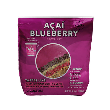Acai Blueberry Bowl DIY (5 pack)