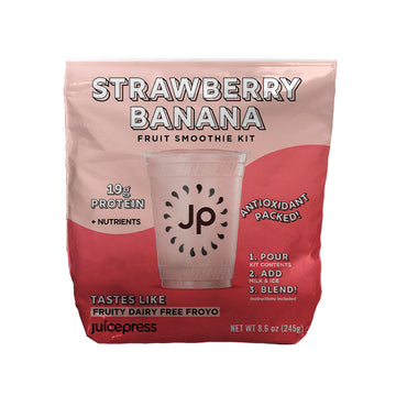 Strawberry Banana Protein DIY
