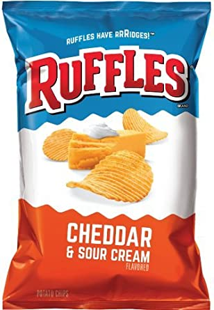 Ruffles Cheddar Sour Cream (8.5 oz)
