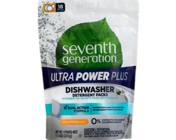 Seventh Generation Dishwasher Packs (18 count)