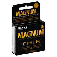 Trojan Magnum Thin 3ct  (1 Pack)