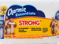 Charmin Essentials Strong Mega Roll Toilet Paper, 1 Roll