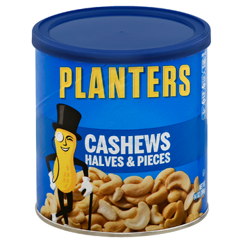Planters Cashews Halves & Pieces (14oz)