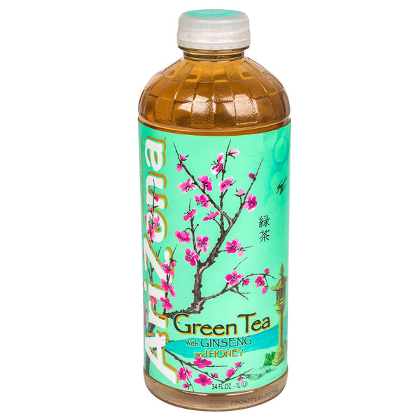 AriZona Green Tea With Ginseng & Honey (1 L)