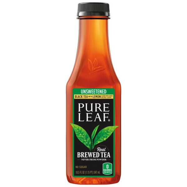 Pure Leaf Black Tea Unsweetened, (18.5oz)