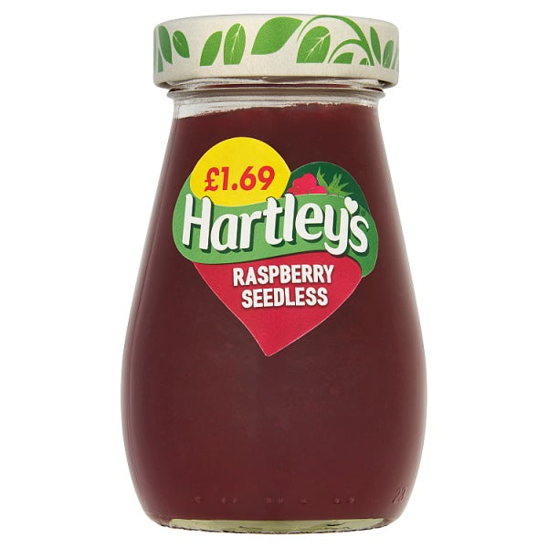 Jam: Hartley's Raspberry x 340g