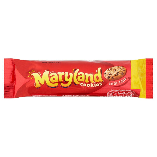 Biscuits: Maryland Choclate Chip Cookies x 136g
