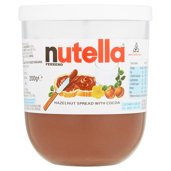 Nutella Chocolate & Hazlenut spread x 200g