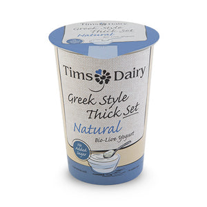 Yoghurt: Greek Style Natural x 500g