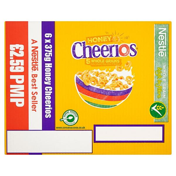 Cereals: Cheerios Honey 375g