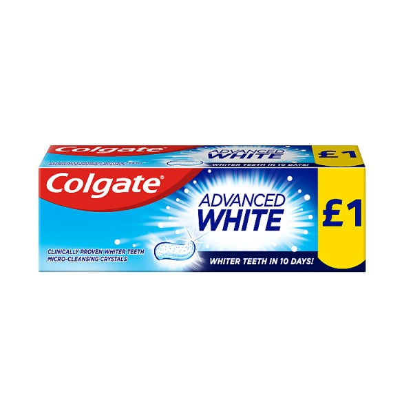 Toothpaste: Colgate Advance Whitening