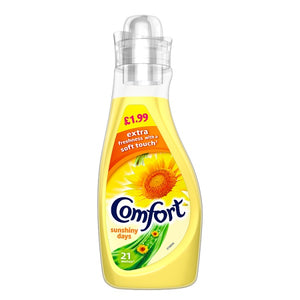 Fabric Conditioner: Comfort Sunshiny Days 750ML