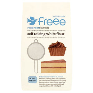 Gluten Free Self Raising Flour: Doves Farm x 1kg
