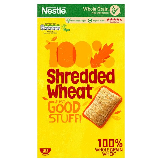 Cereals: Shredded Wheat x 30's