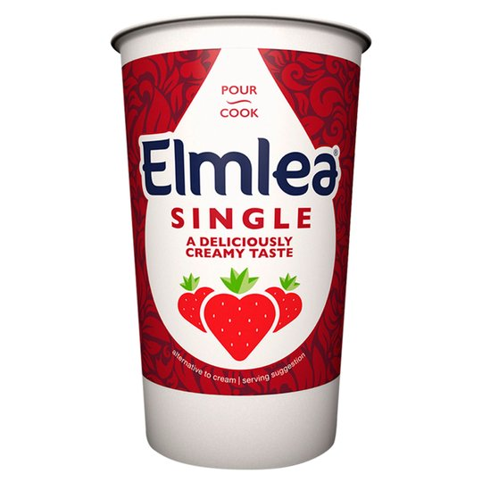 Cream: Elmlea Single x 284ml