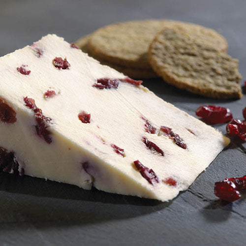 Cheese: Wensleydale with Cranberries 500g